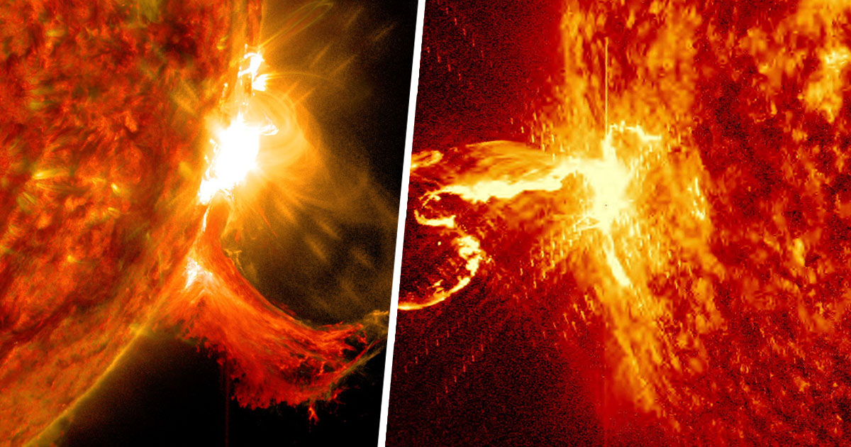 Biggest Solar Flare For Years Just Came Out Of The Sun And NASA Thinks It Could Be Waking Up