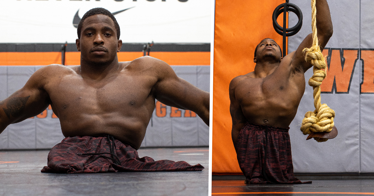 Man Born Without Legs Due To Rare Condition Is Now Pro Freestyle Wrestler