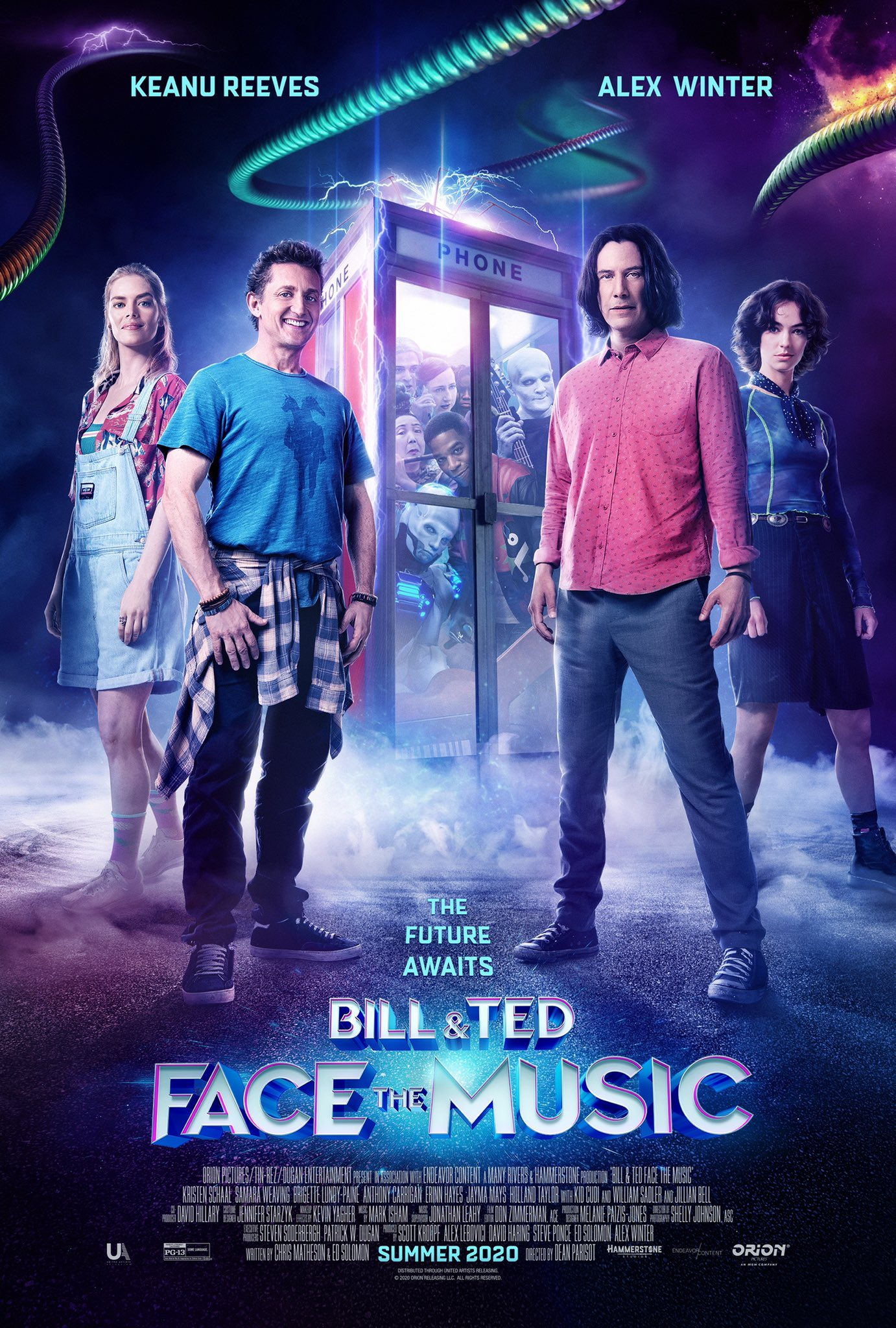Bill and Ted 3 Poster