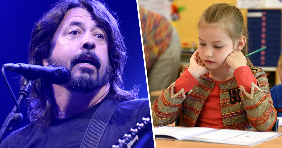 Dave Grohl Says We Need To Protect Teachers Like The National Treasures They Are