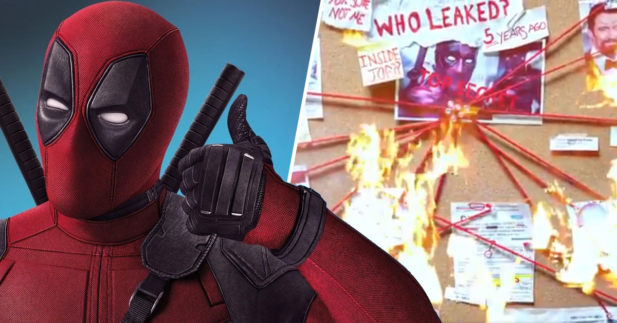 Ryan Reynolds Tries To Solve Mystery Of Who Leaked The Original Deadpool Footage