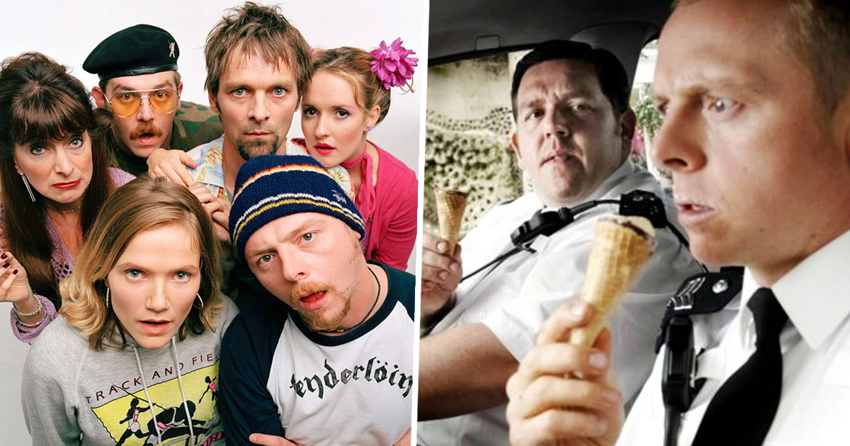 Hot Fuzz And Spaced Are Now Streaming On Netflix