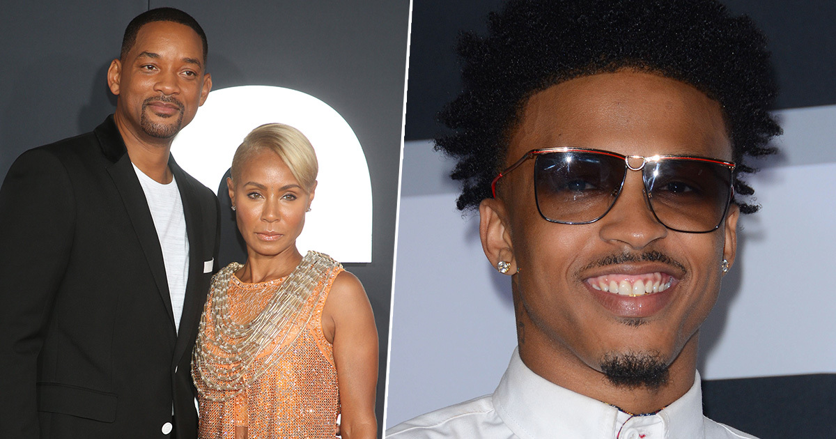 Jada Pinkett Smith Denies She Had An Affair With August Alsina