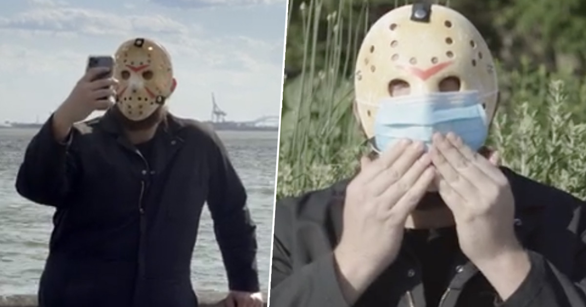 Friday The 13th Slayer Jason Voorhees Endorses Wearing Masks In New Public Service Announcement