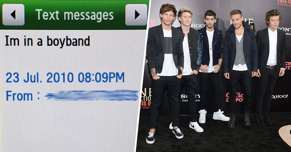 Liam Payne Shares Text He Sent His Dad On Day One Direction Was Formed