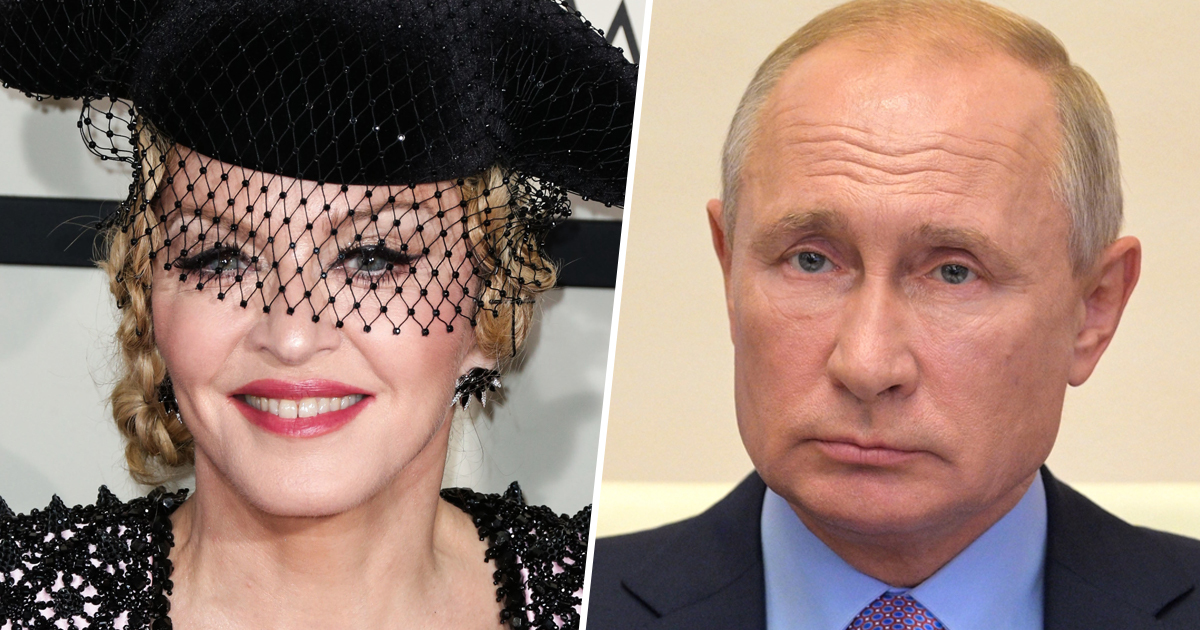 Madonna Fined $1 Million By Russian Government For LGBTQ+ Speech