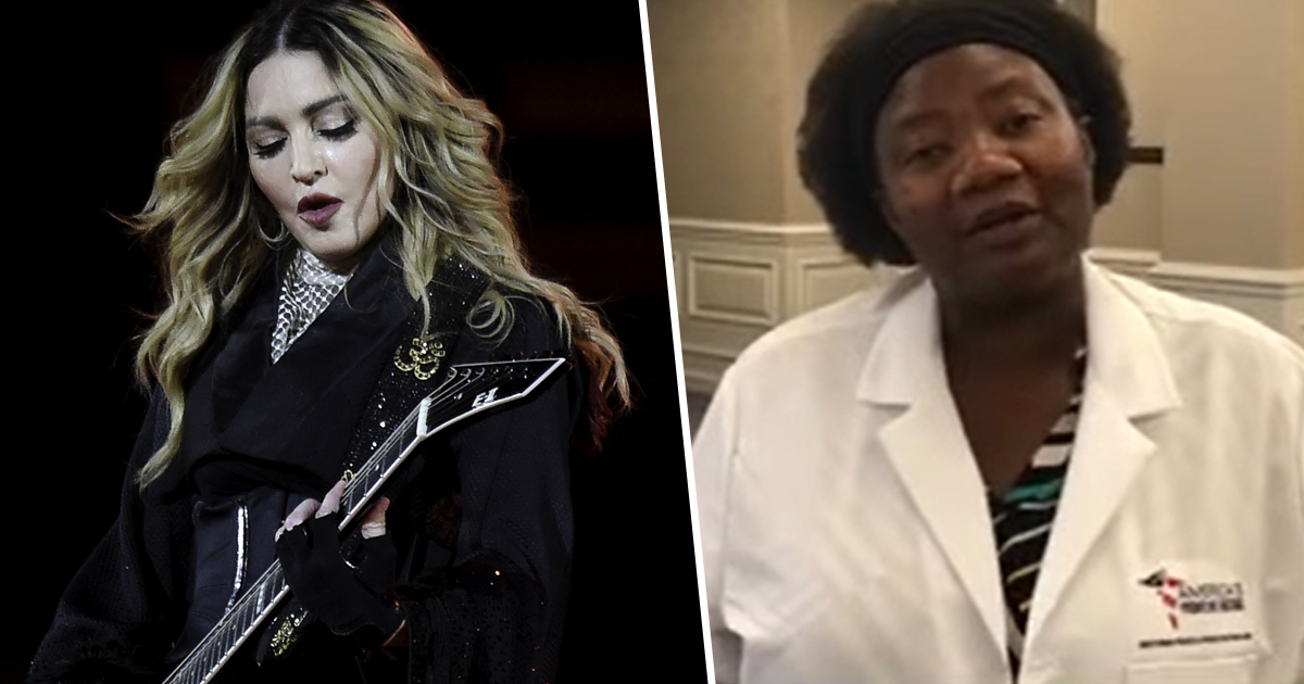 Madonna Censured By Instagram For Praising 'Demon Sperm' Doctor's Vaccine Conspiracy Theory