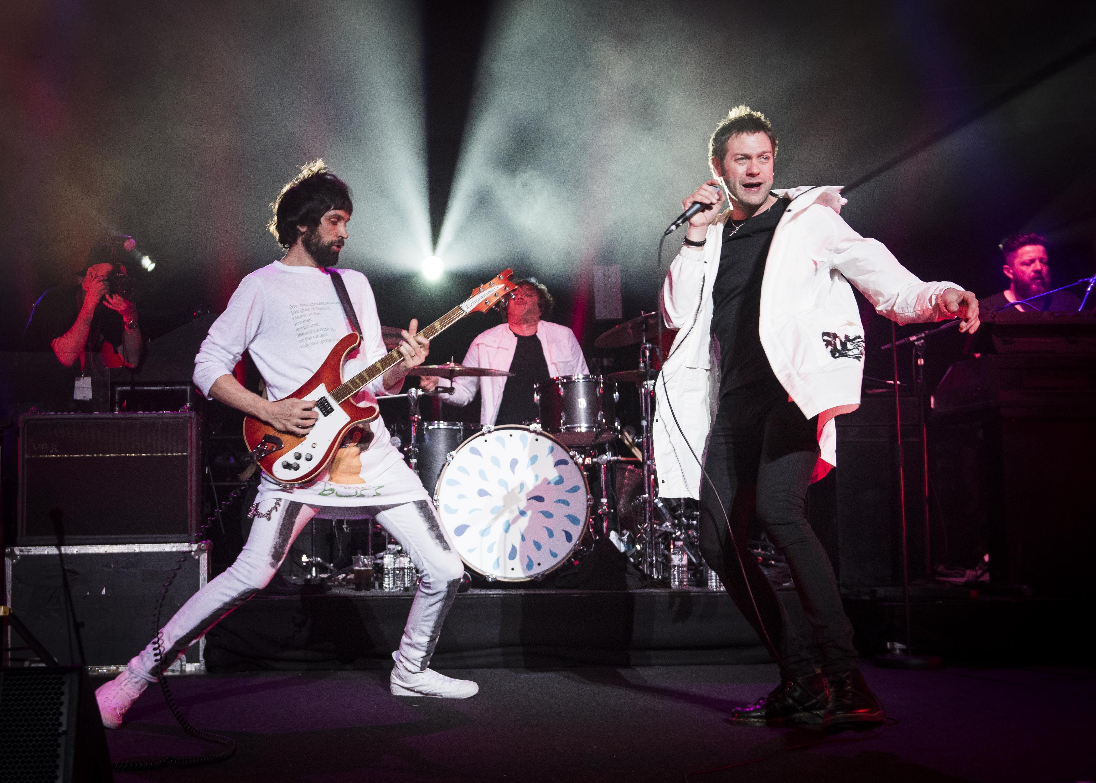 Sergio Pizzorno and Tom Meighan from Kasabian
