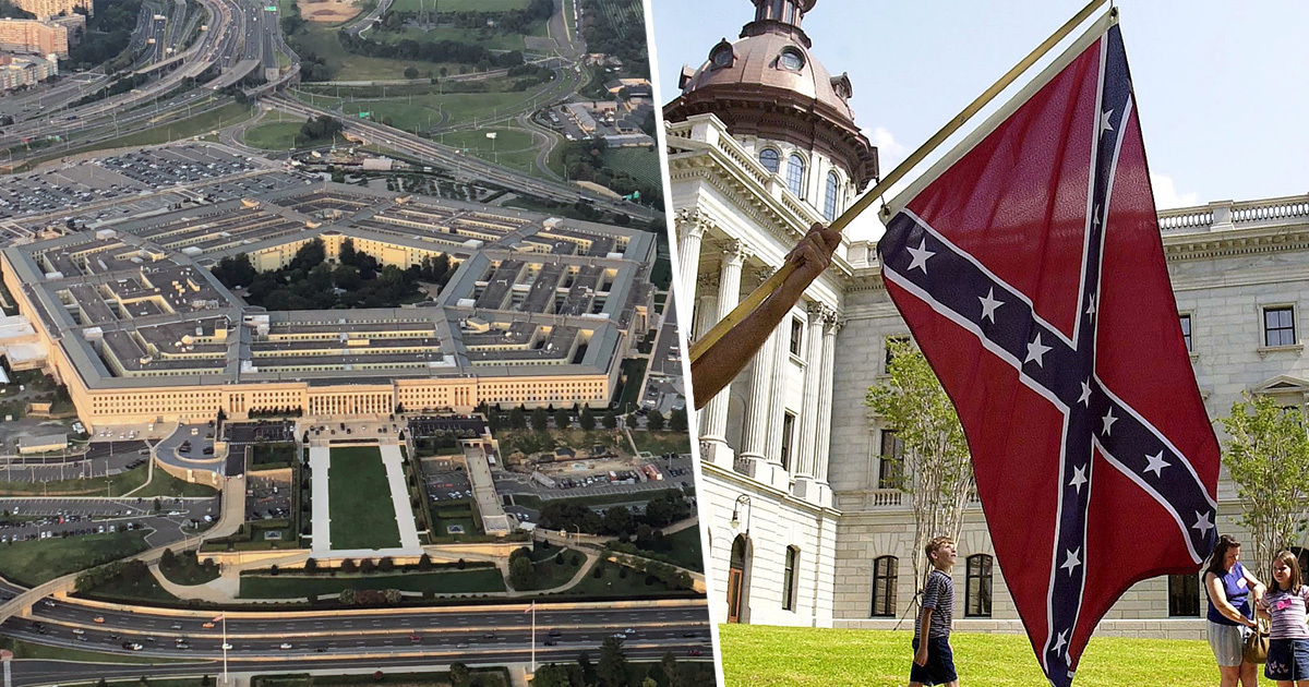 Pentagon Will No Longer Allow Confederate Flag To Be Flown Over US Army Bases