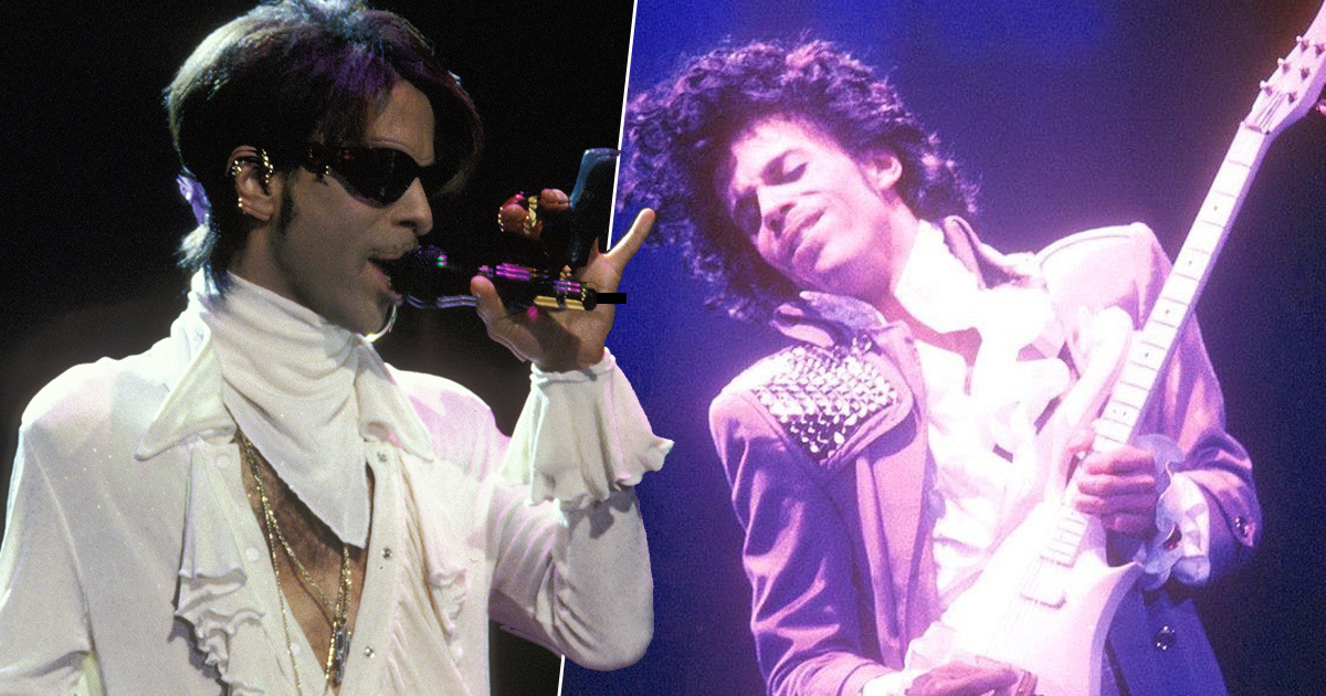 Prince Sang All The Parts And Played All 27 Instruments By Himself On His First Album