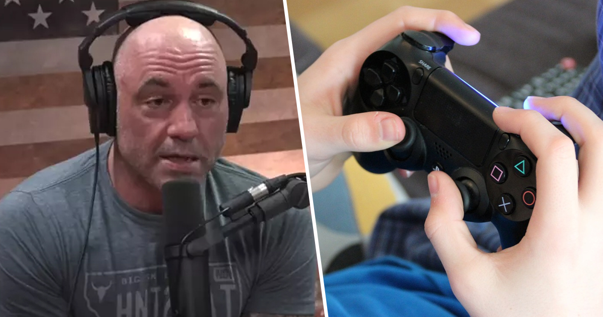 Joe Rogan Says Video Games A 'Real Problem' In Society And 'Waste Of Time'