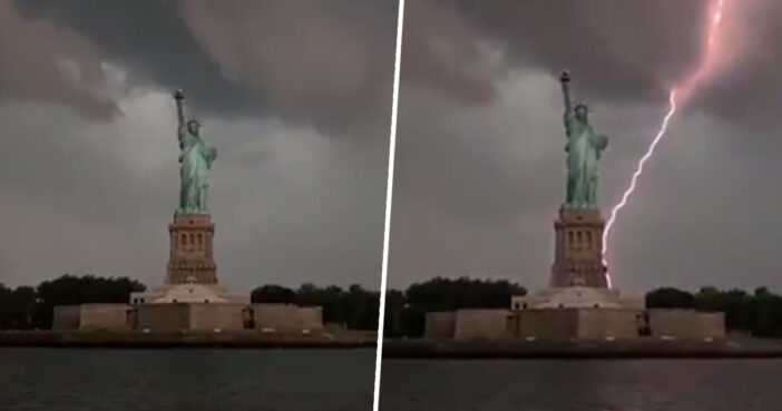 Lightning Striking Statue Of Liberty Is Perfect Metaphor For America Right Now