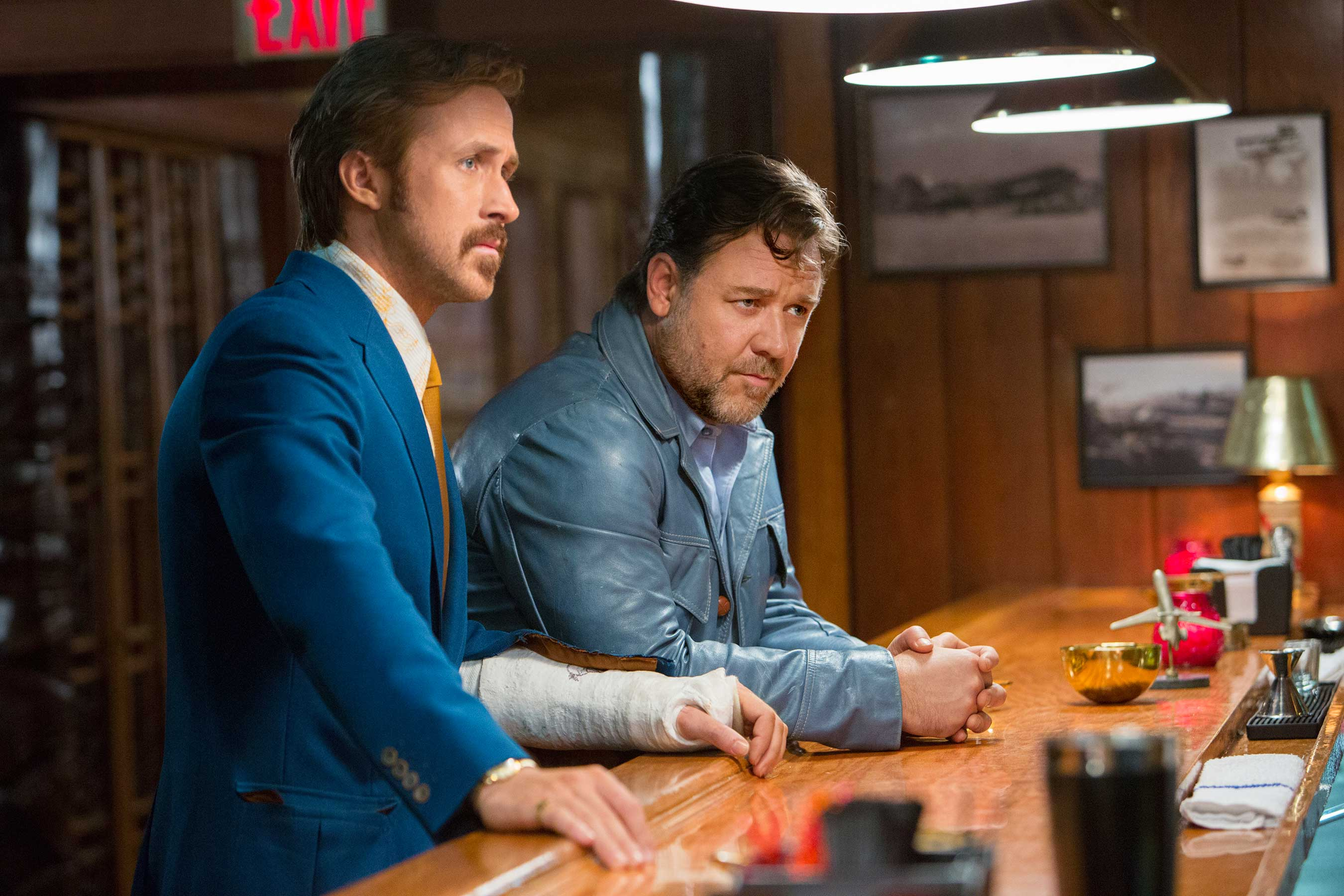 The Nice Guys Crowe Gosling