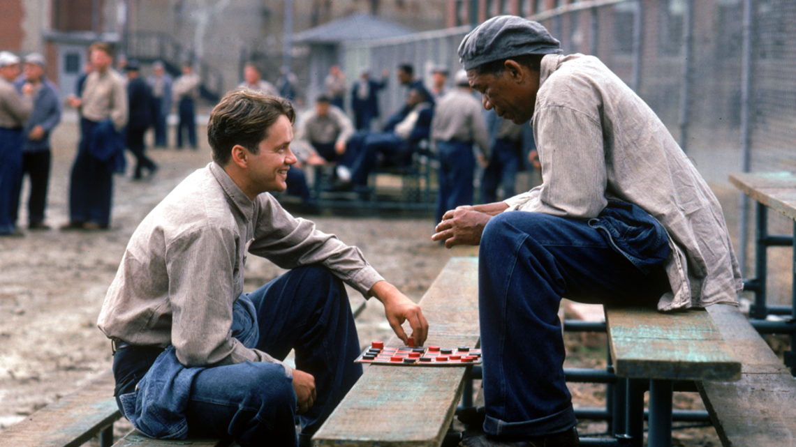 The Shawshank Redemption Andy Dufresne and Red