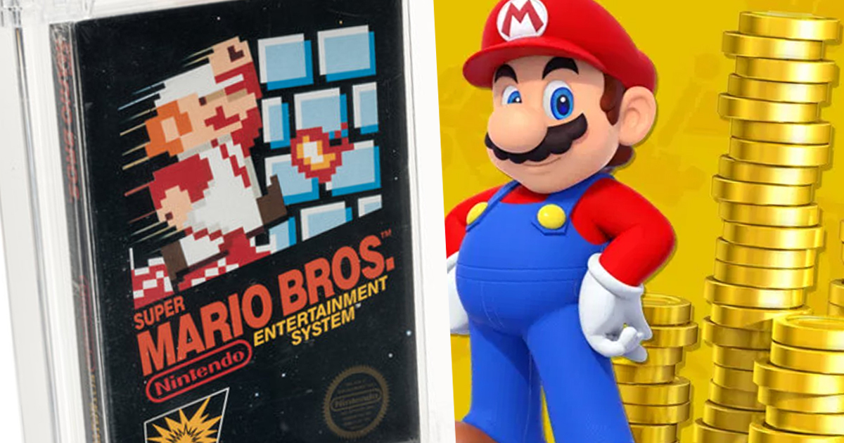 Super Mario Game Sold At Auction Becomes Most Expensive Video Game Ever