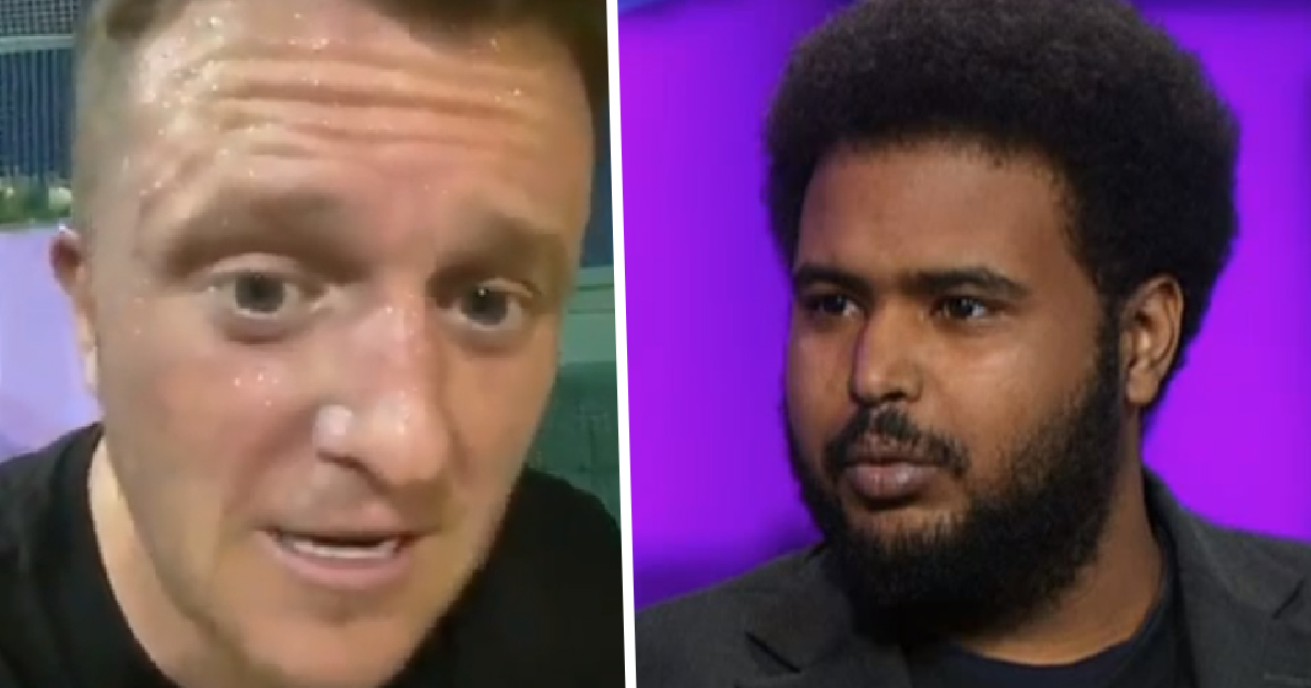 Rapper Awate Told To 'Go Home' By Tommy Robinson Roasts Him For Fleeing UK
