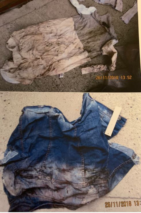 Elle's clothes sent back to her burned and destroyed