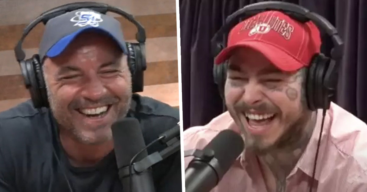 Post Malone And Joe Rogan Record 4 Hour Podcast Together While High On Magic Mushrooms
