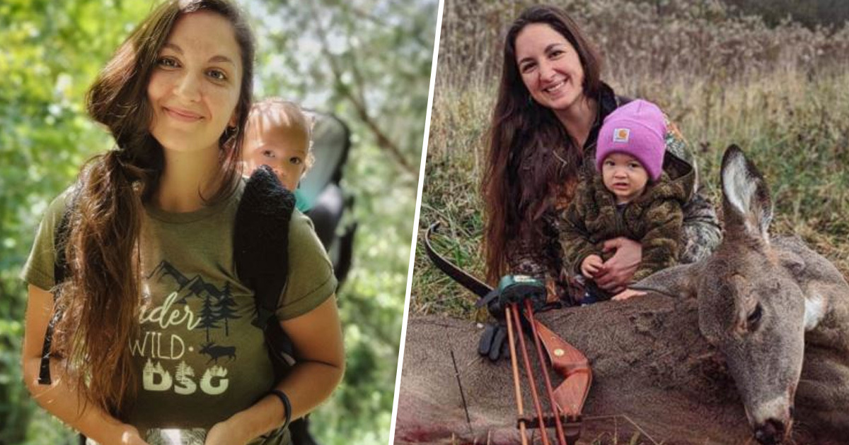Ohio Mum Takes Toddler Deer And Rabbit Hunting To 'Normalise' Killing