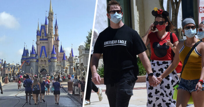 Disney World Reopens Days After Florida Sets New Record For COVID-19 Deaths