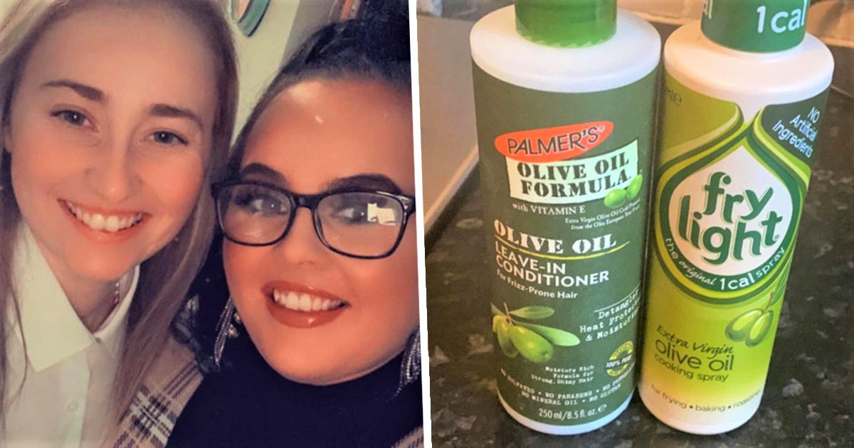 Woman Makes Fiancée Sick After Mistaking Hair Conditioner For Olive Oil