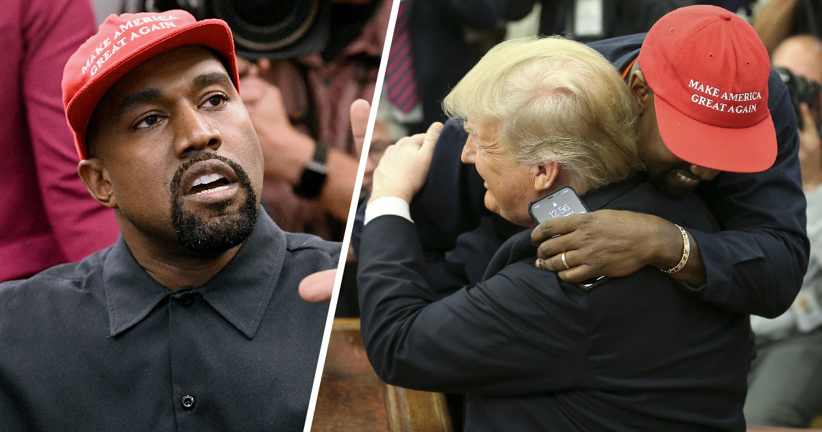 Kanye West Says He Never Actually Voted For Donald Trump