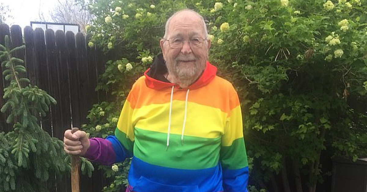 90-Year-Old Man Finally Tells Family He's Gay In Time For Pride Month
