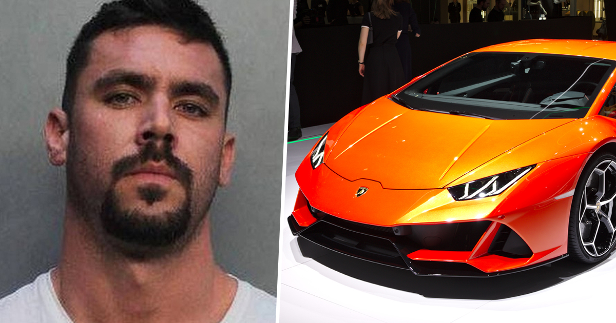 Florida Man Arrested After Using $3.9 Million Coronavirus Relief To Buy Lamborghini
