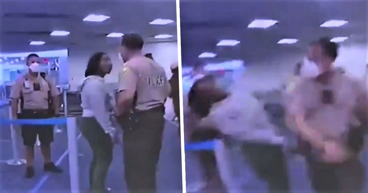 Two Cops Fired After Video Shows Woman Being Punched And Tackled