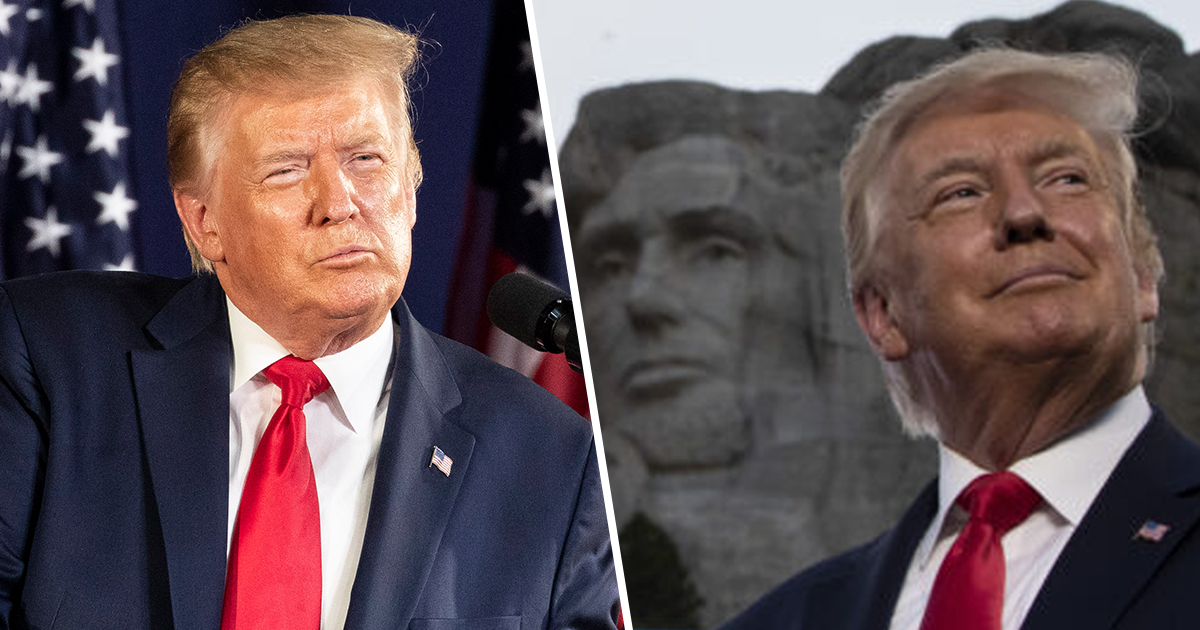 Trump Blasts 'Cancel Culture' And 'Angry Mobs' Tearing Down Statues In Divisive Mount Rushmore Speech