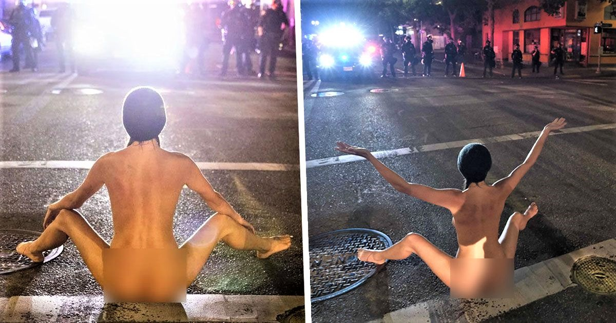 Naked Protester Speaks Out For First Time About Full-Frontal Face-Off With Cops