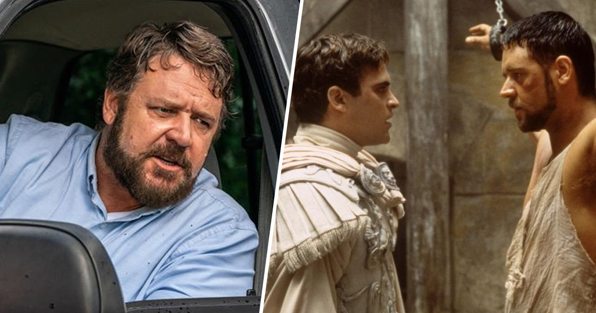 Russell Crowe Calls Joaquin Phoenix's Gladiator Villain One Of Cinema's Best Bad Guys