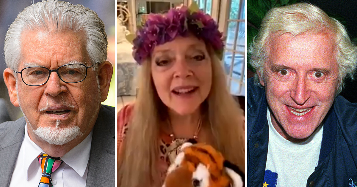 Carole Baskin Tricked Into Giving Rolf Harris And Jimmy Saville Shout Out