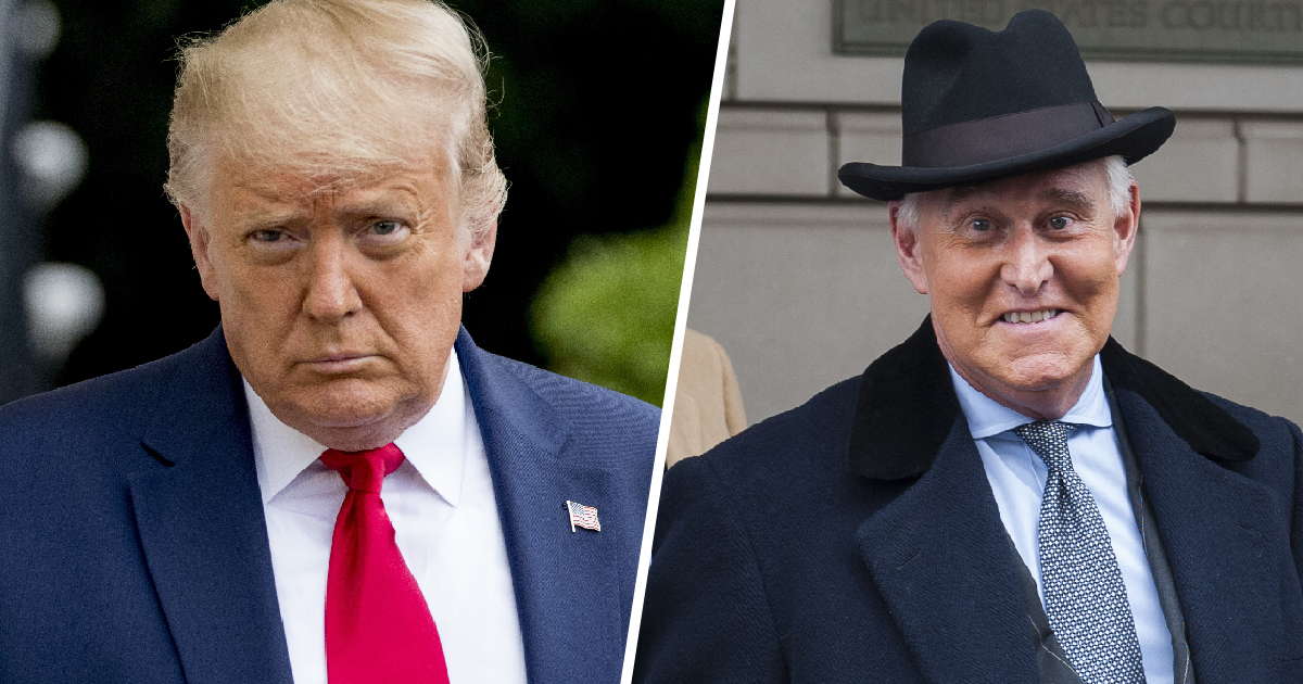 Trump Commutes Three-Year Prison Sentence Of His 'Loyal' Ex-Adviser Roger Stone, Who Lied Under Oath