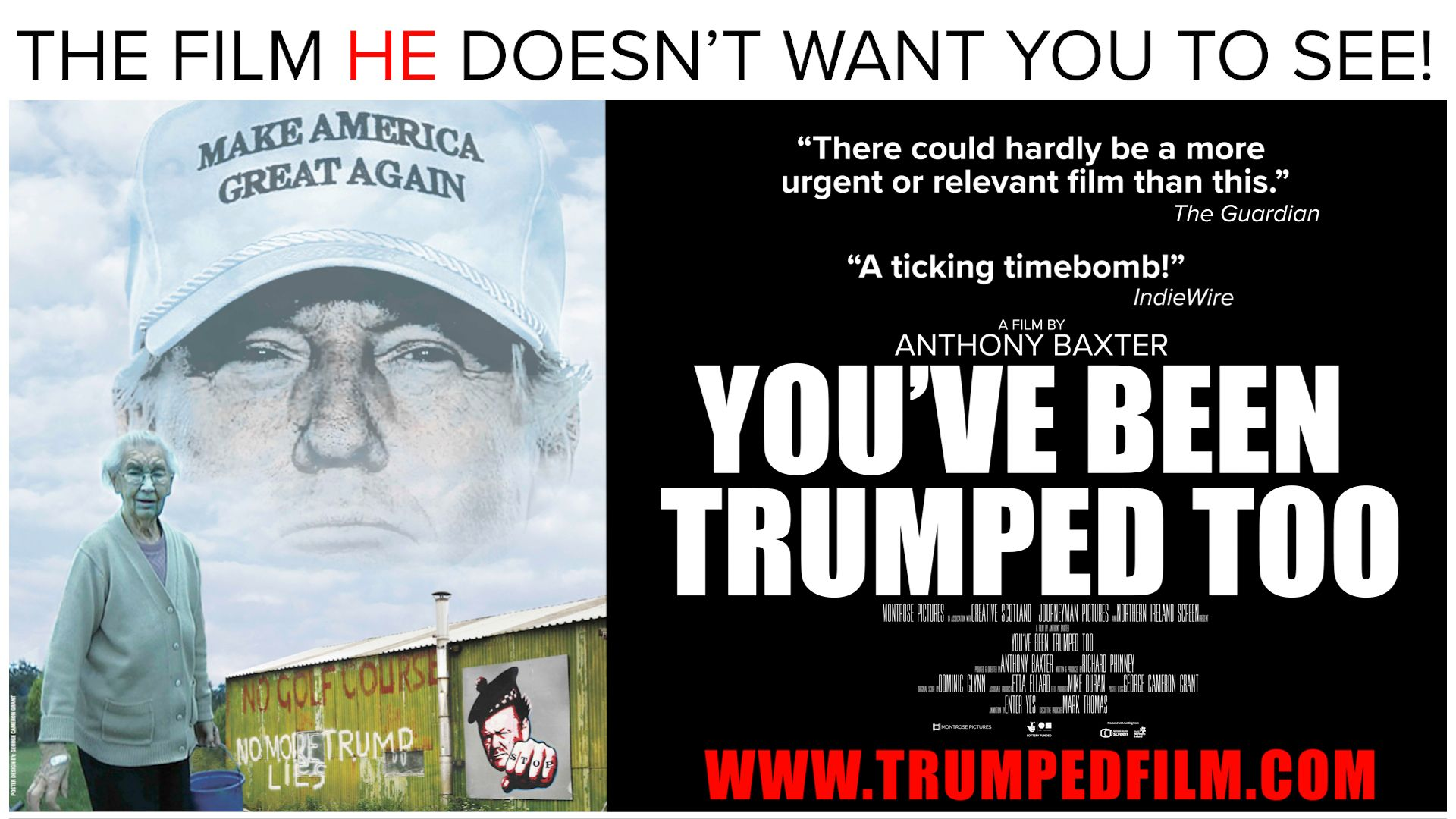 You've Been Trumped Too documentary poster