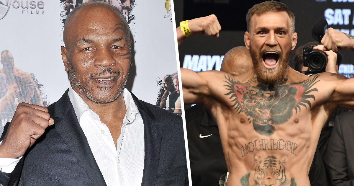 Mike Tyson Says He'd Kick Conor McGregor's Ass In A Boxing Match