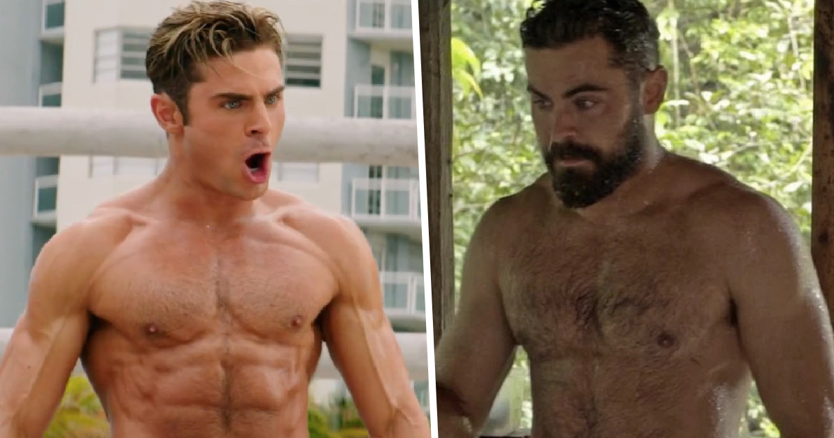 People Are Divided Over Zac Efron's Supposed Dad Bod