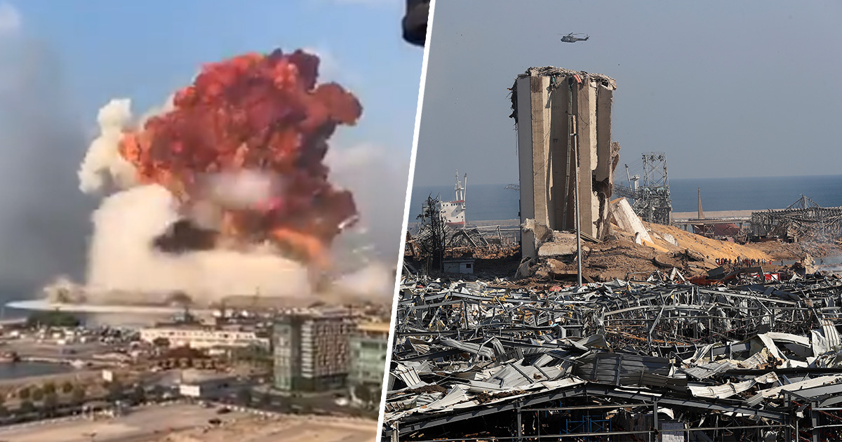 Conspiracy Theorists Insist Beirut Explosion Was A Nuke, It Wasn't
