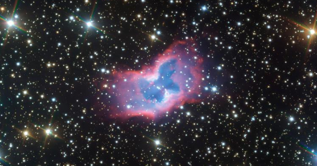 Astronomers Capture Incredible Picture Of 'Space Butterfly'