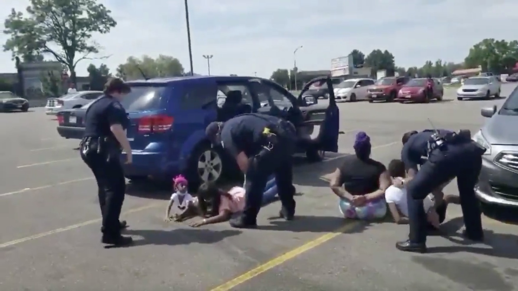 Black Family Detained And Handcuffed By Police At Gunpoint