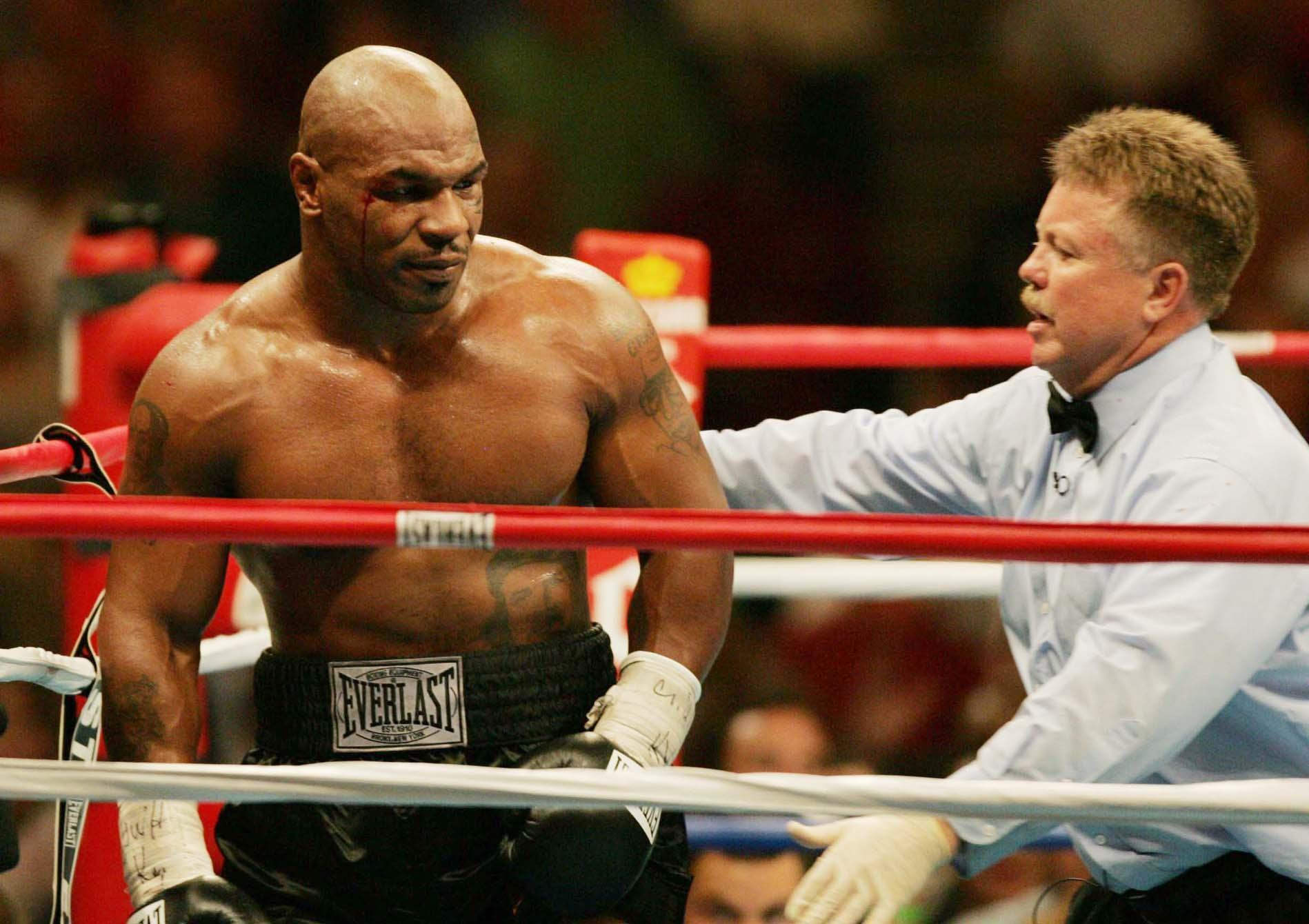 mike Tyson heavyweight contest