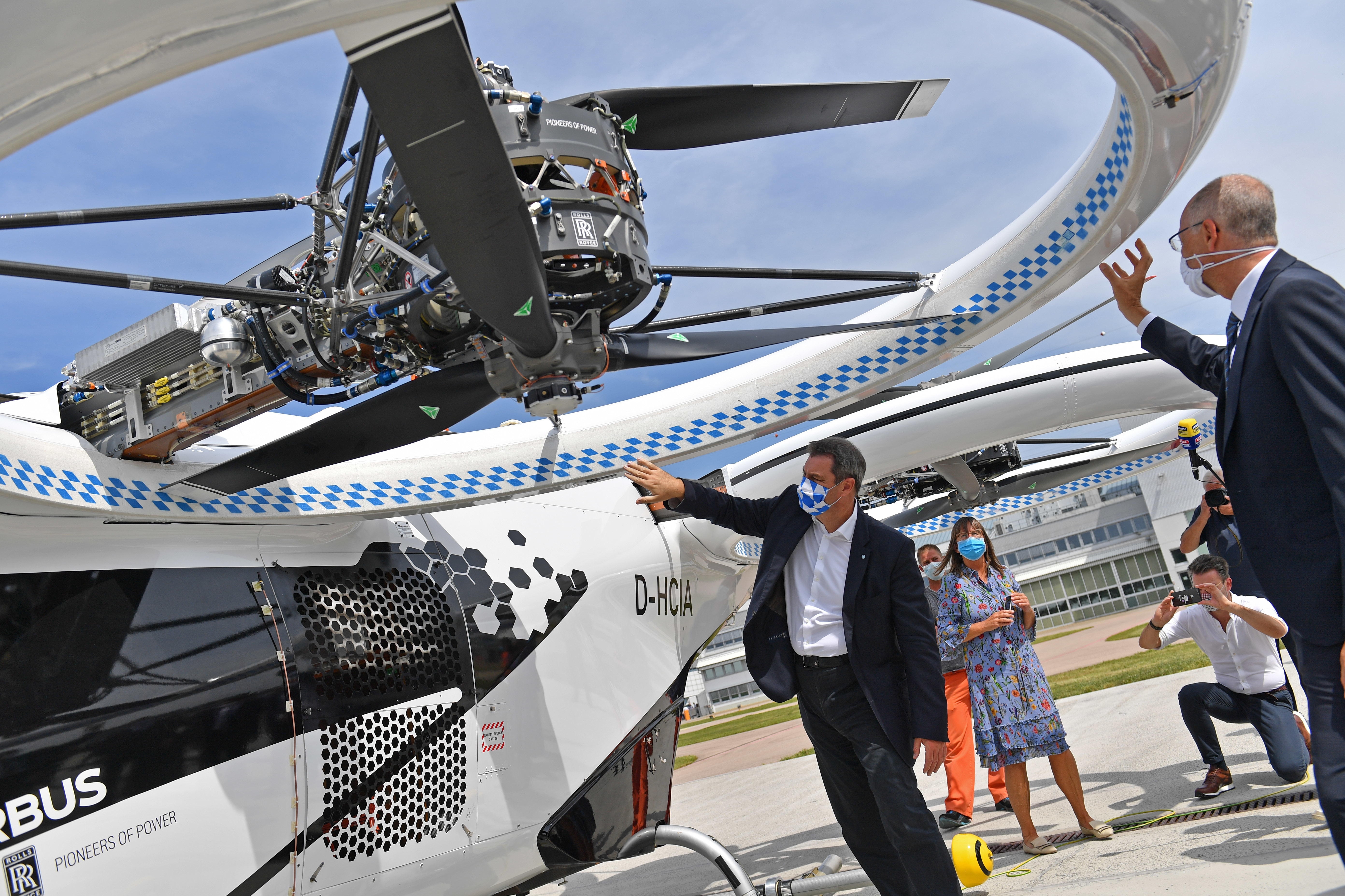 The Airbus CITYAIRBUS flying taxi