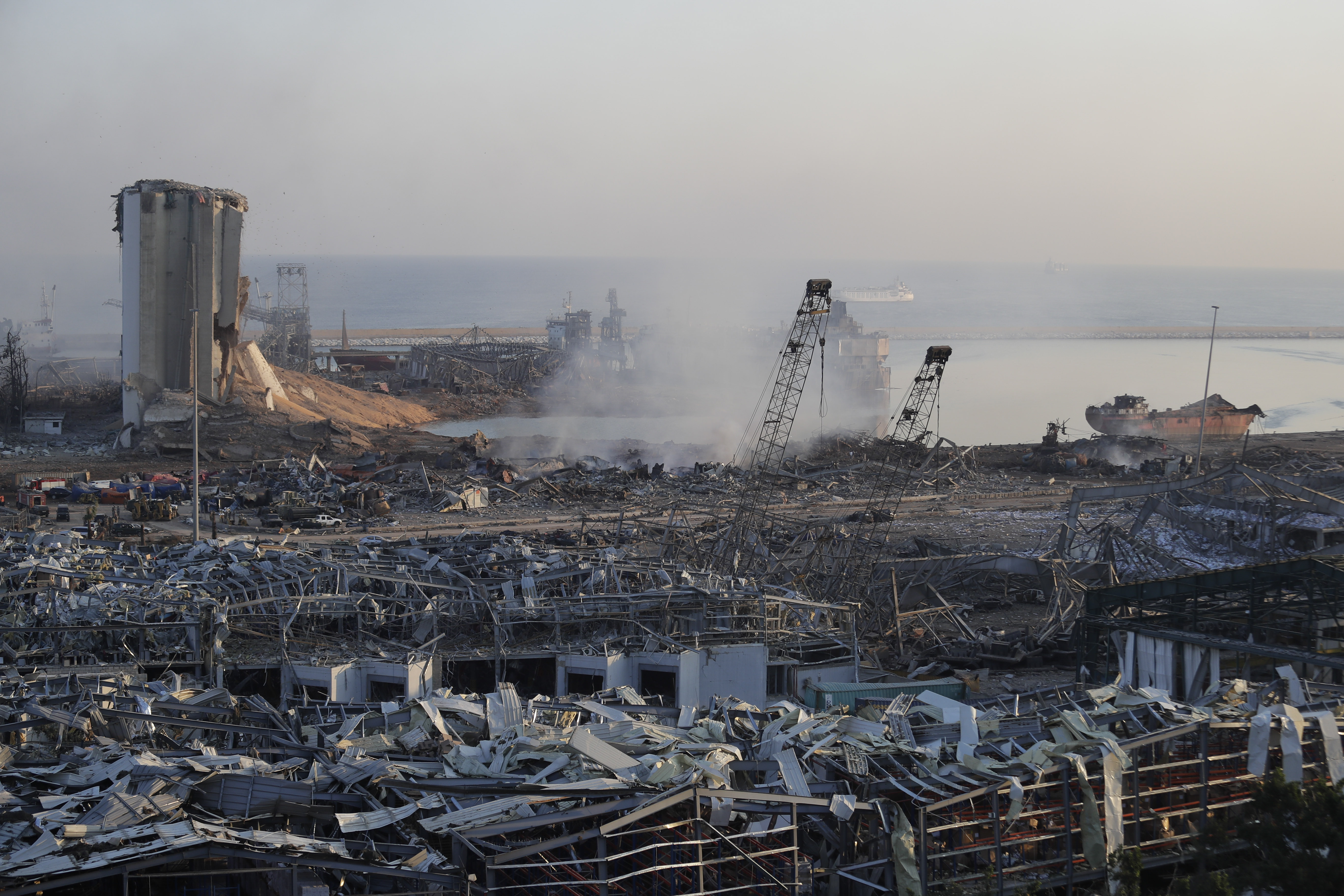 Death Toll Reaches 100 After Huge Explosion In Beirut Shatters Buildings