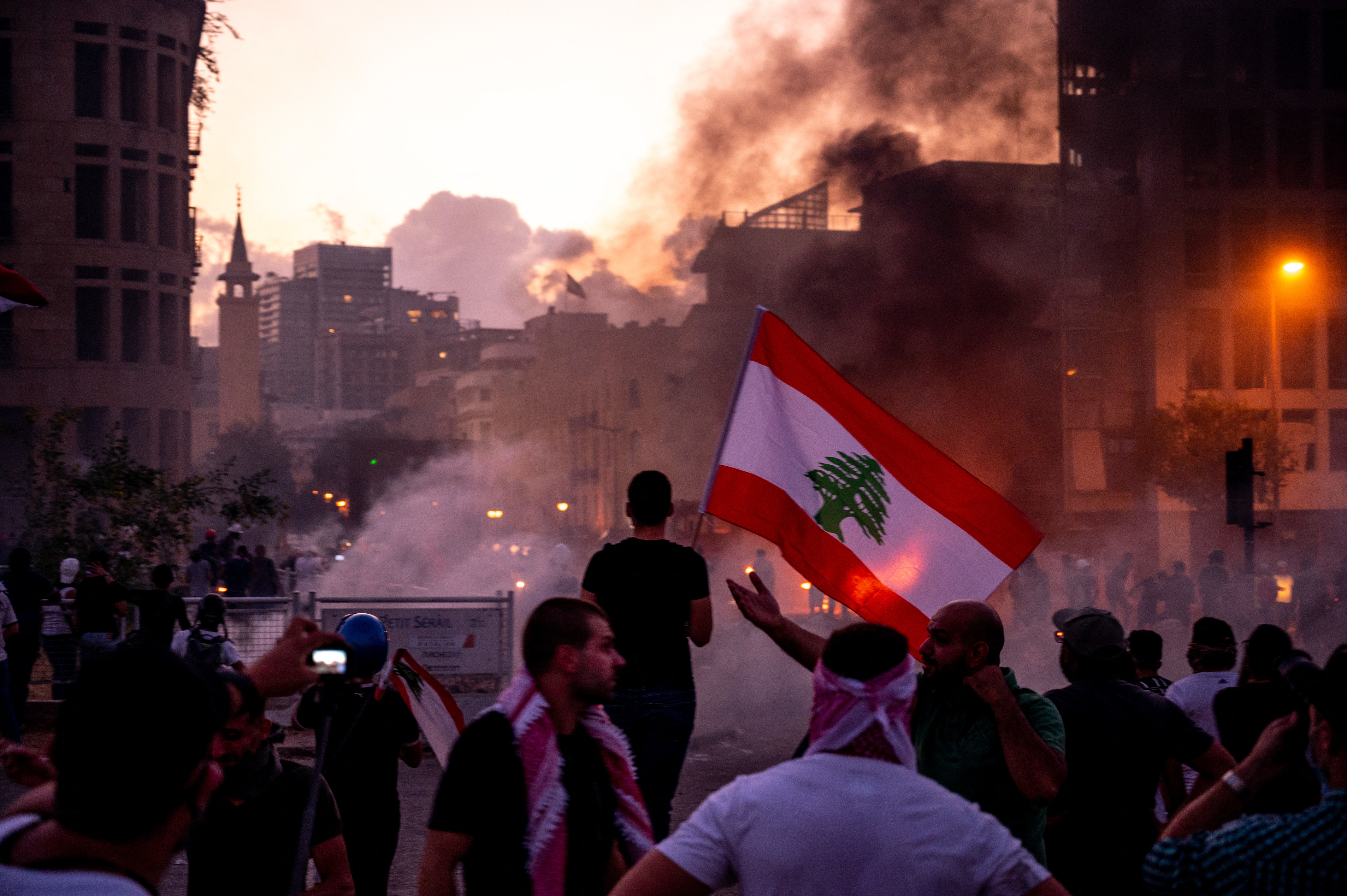 Lebanon's Entire Government Resigns After Protests Over Beirut Explosion