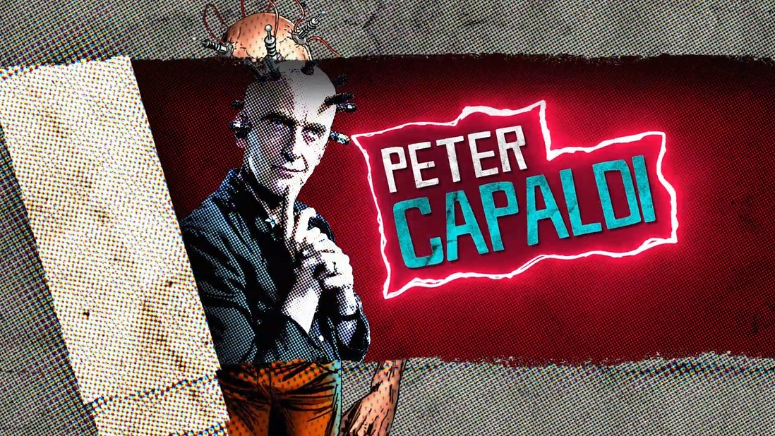 Peter Capaldi The Thinker Suicide Squad