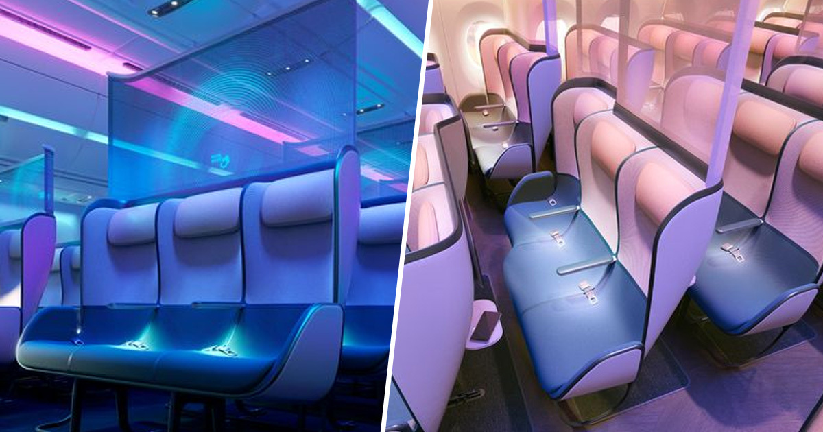 New Cabin Design Shows What Future Of Flights Could Look Like Post-Pandemic