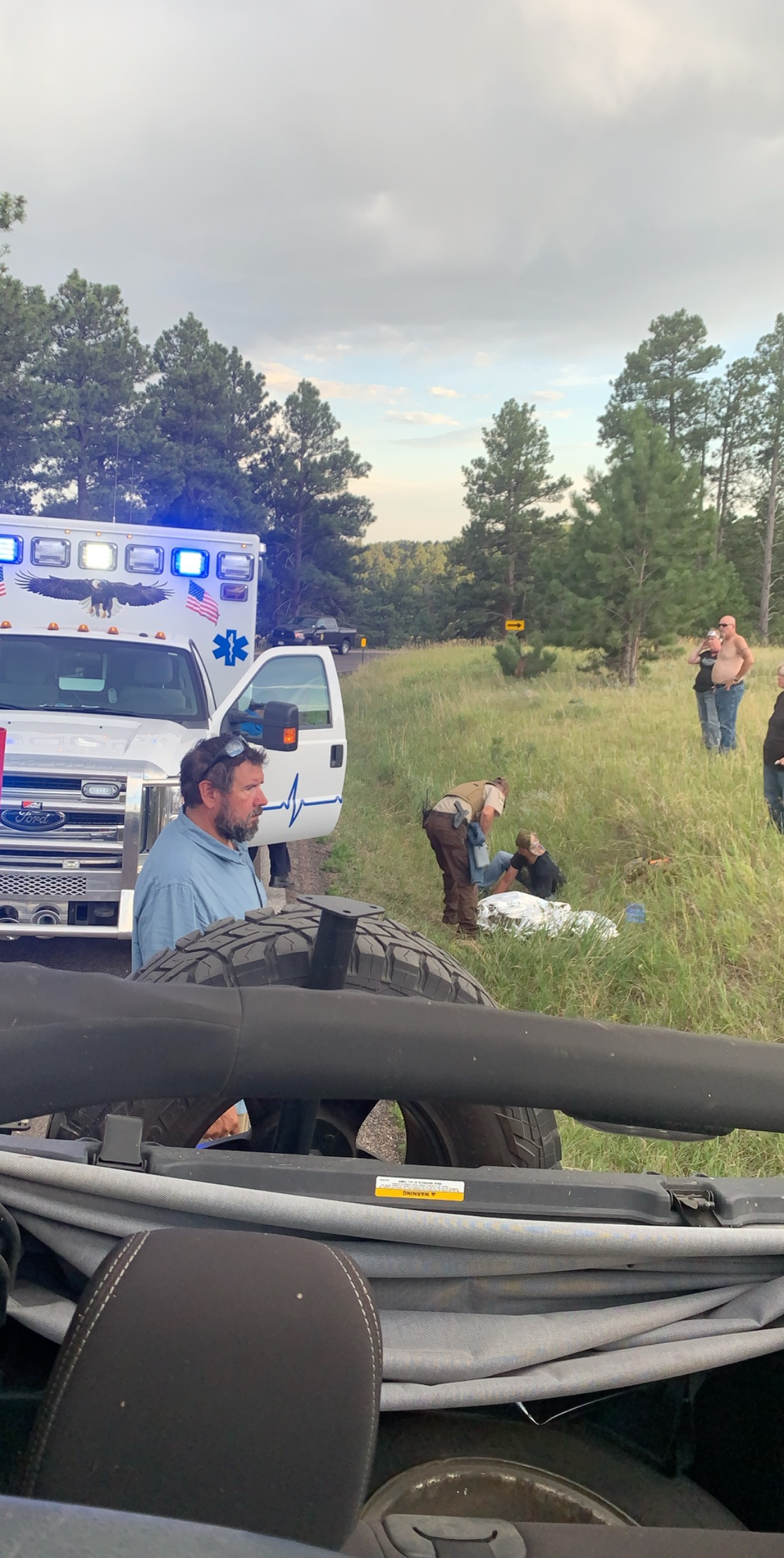 Bison Rip Pants Off Woman Who Sat In Middle Of Herd To Take Photo