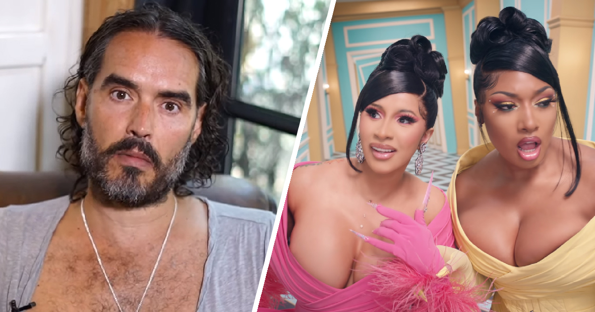 Russell Brand Slammed For Hypocritical 17-Minute Video Against Cardi B