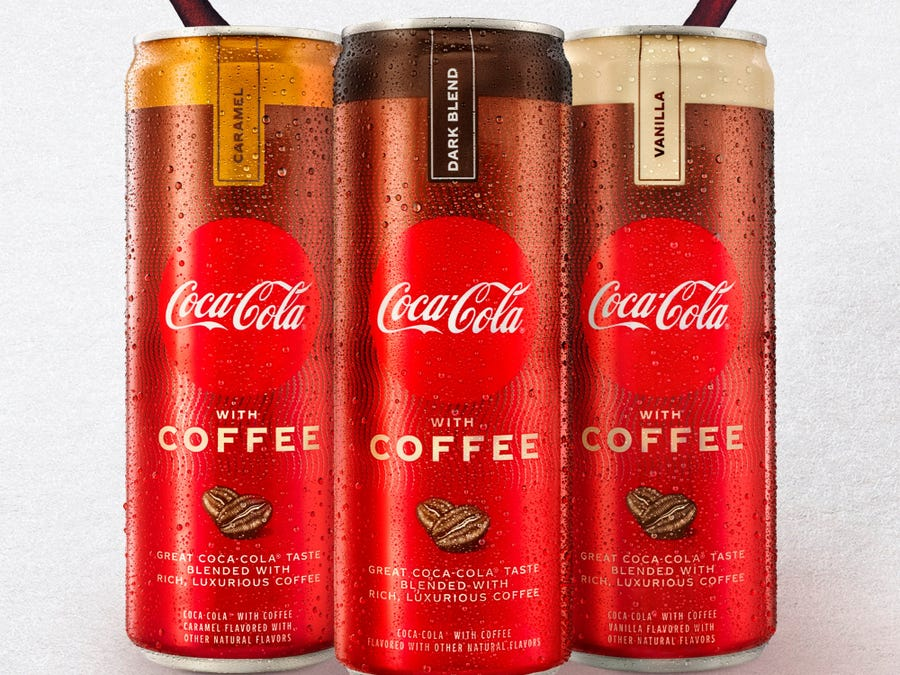 coffee infused coca cola