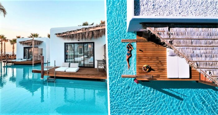 Hotel In Greece Offers Amazing Maldives-Style Overwater Bungalows